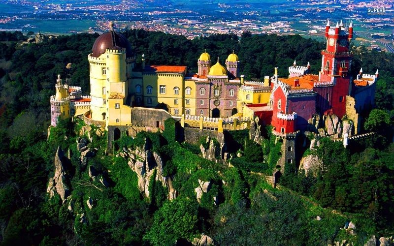 Замок Пена (Pena National Palace), Синтра